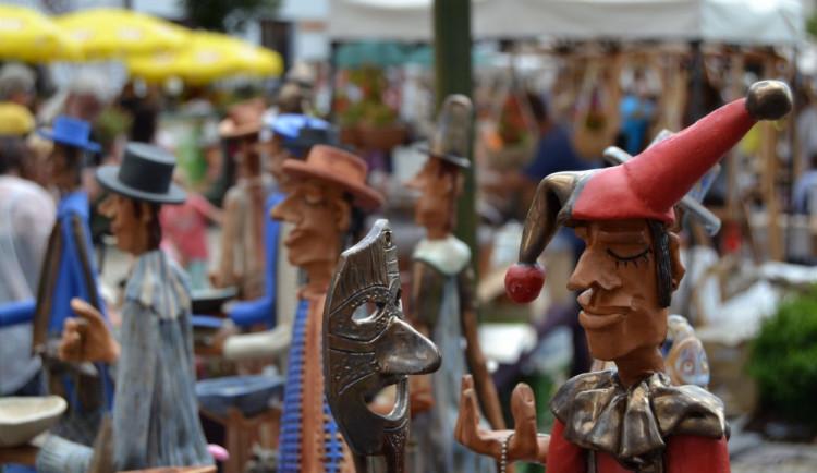 Koloběžková Grand Prix a keramické trhy v Bechyni