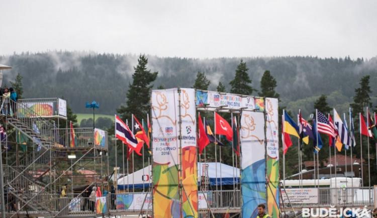 Slavnostní otevření Olympijského parku Rio-Lipno 2016