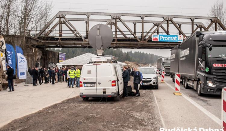 Zahájení výstavby nového úseku dálnice D3 mezi Ševětínem a Borkem