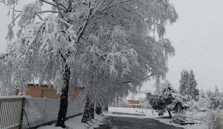 Konec dubna ovládla zima