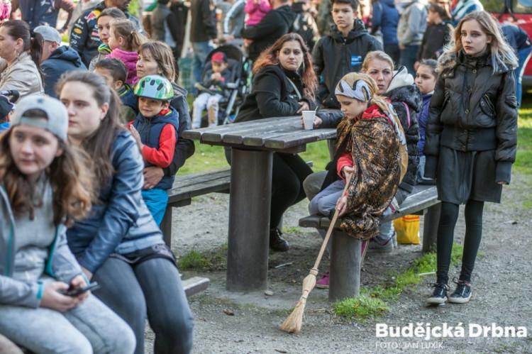 Slet čarodějnic v Českých Budějovicích 2017