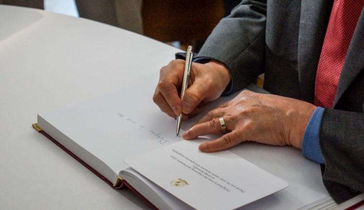 Singapurský prezident navštívil Český Krumlov