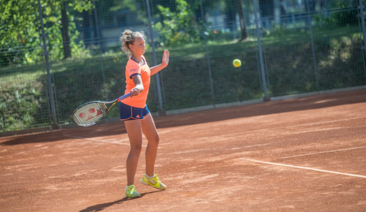 Tenisový nominační turnaj starších žákyň (8. - 10. červenec 2017)