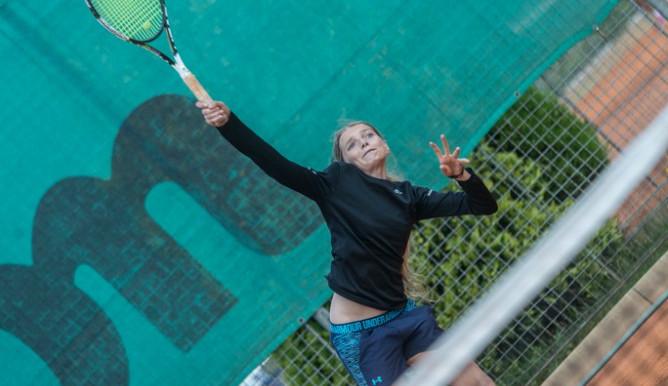 Tenisový turnaj dorostenek 15. - 18. červenec 2017