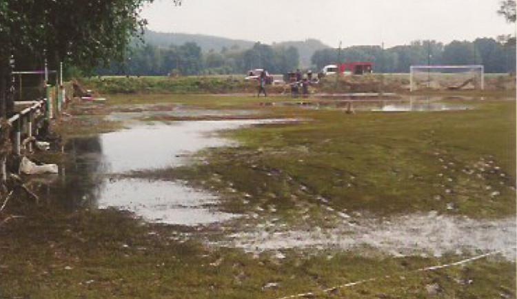 Roudné muselo po povodni v roce 2002 vybudovat nový areál. Starý opustilo