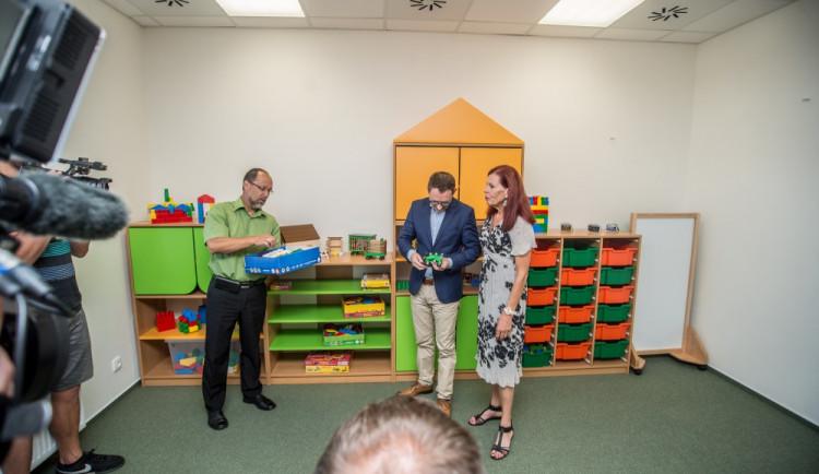 Slavnostní otevření nové školky v ulici A. Trägera