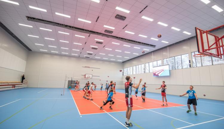 Otevření nové tělocvičny ZŠ Oskara Nedbala
