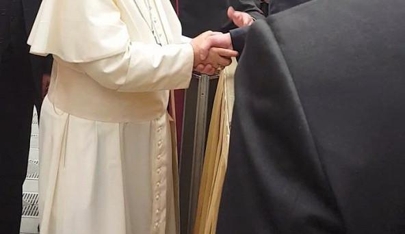 Jihočeši se setkali s papežem Františkem