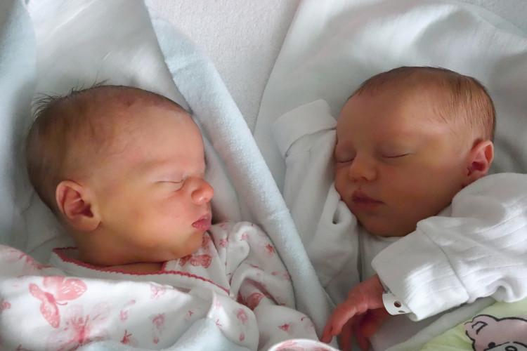 Matznerová Anežka a Eliška