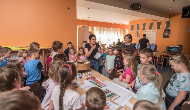 Žáci základní školy Emy Destinové se zúčastnili Anifilmu
