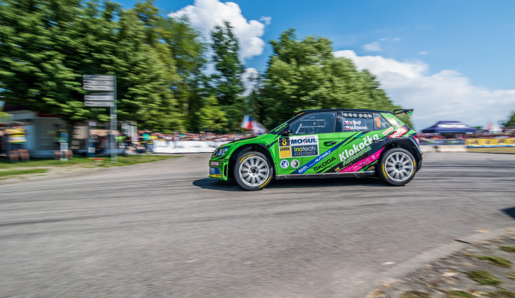 46. Rallye Český Krumlov - RZ na budějckém výstavišti