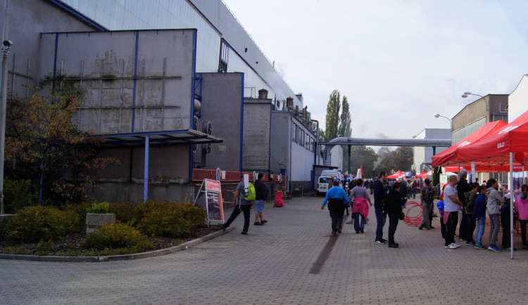 Den otevřených dveří v teplárně a v dopravním podniku v Českých Budějovicích