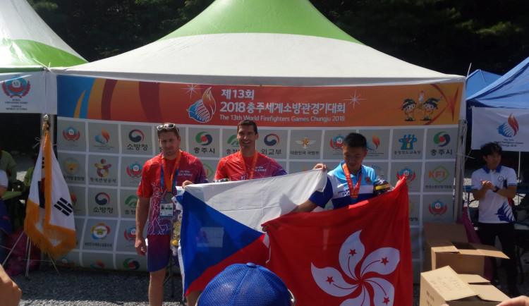 Jihočeští profesionálové na třináctých Světových hasičských hrách v Jižní Koreji