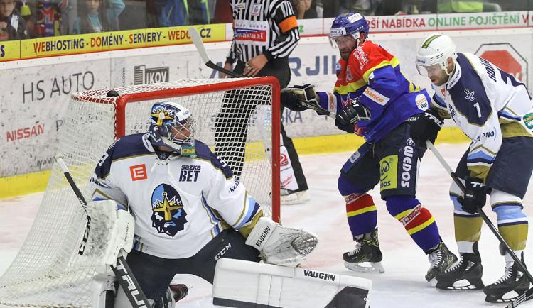 Budějčtí hokejisté přehráli kladenské Rytíře
