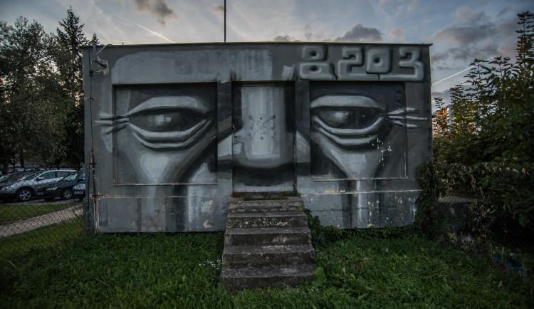 Graffiti v Budějcích
