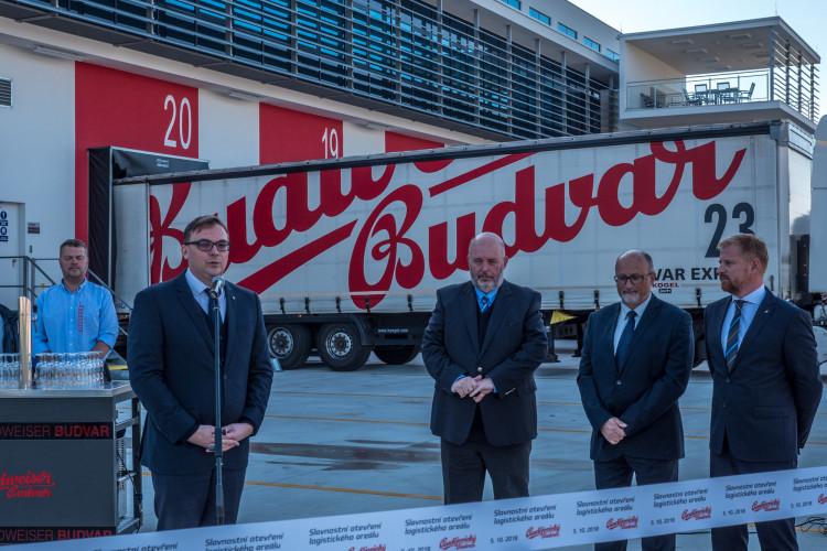Nový logistický areál Budějovického Budvaru