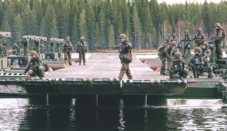 Strakoničtí vojáci se účastní velkého cvčení NATO v Norsku