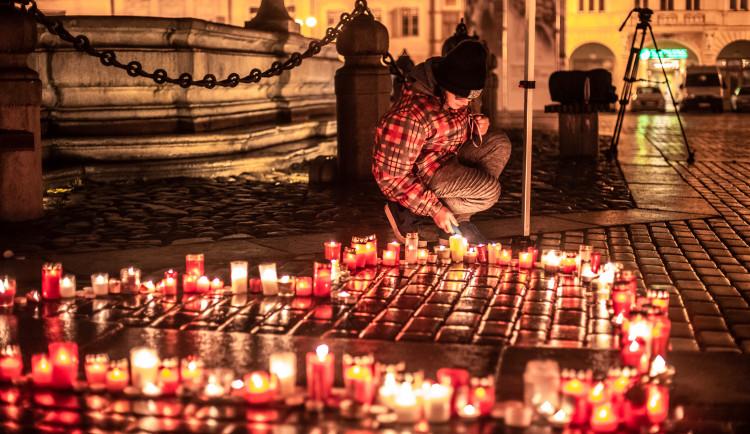Oslavy 100 let republiky na budějckém náměstí