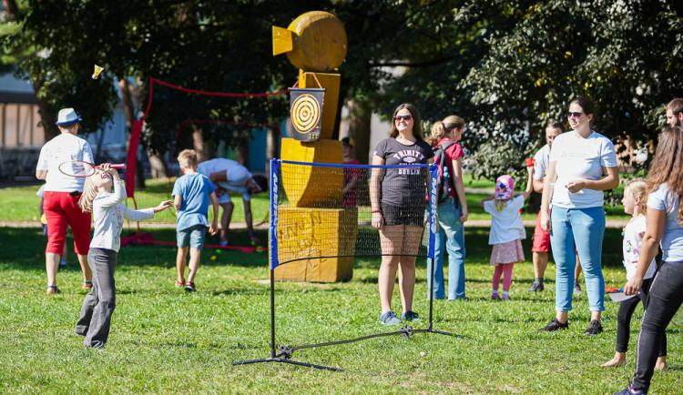 FOTO: Sportovní odpoledne pro (pra)rodiče s dětmi