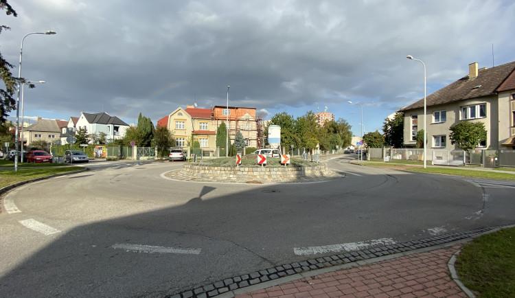 Kruhové objezdy ve městě