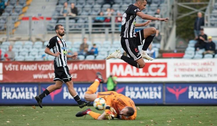 FOTOGALERIE: Dynamo nedalo Karviné šanci