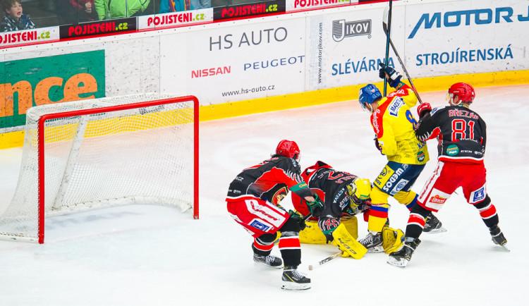ČEZ Motor České Budějovice vs LHK Jestřábi Prostějov