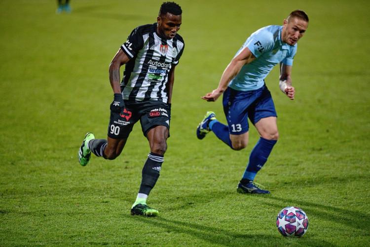 FOTOGALERIE: Brzký gól a červená karta. Dynamo doma dobývalo příbramský val, nakonec vyhrálo 2:1