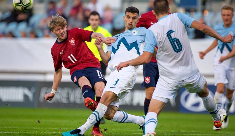 Česká reprezentace do 21 let porazila Slovinsko