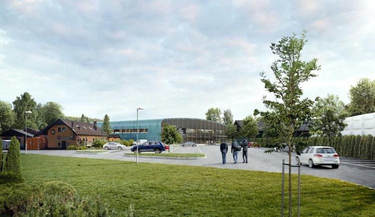 Hluboká nad Vltavou bude mít nový hokejový stadion